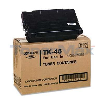 KYOCERA MITA F1050 TONER CARTRIDGE BLACK